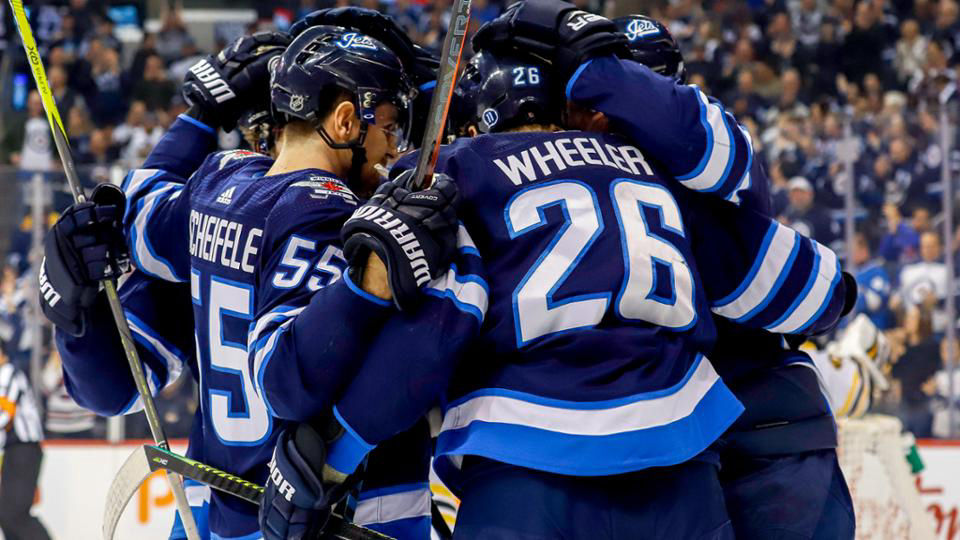 Winnipeg Jets Goal Celebration